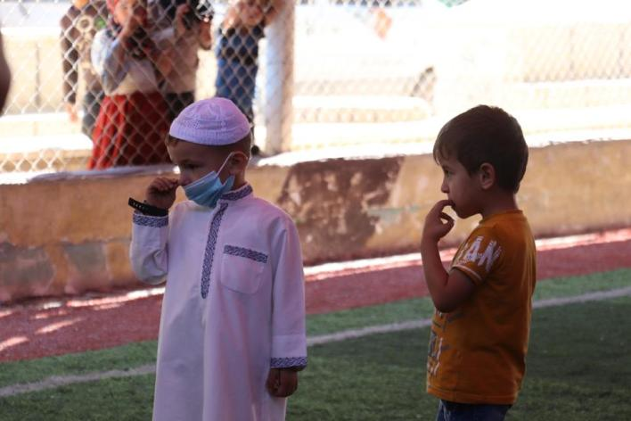 وصول جائحة كورونا إلى مخيمات الشمال السوري