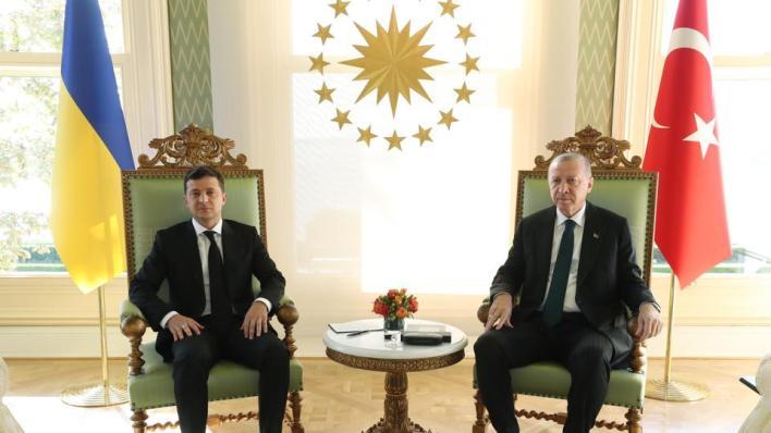 الرئيس الأوكراني وزيارة عمل إلى تركيا الجمعة بدعوة من أردوغان