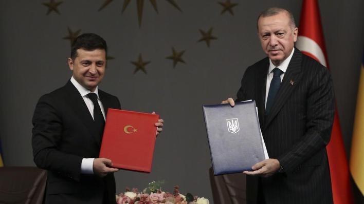 أردوغان: ندعم سيادة أوكرانيا ووحدة أراضيها
