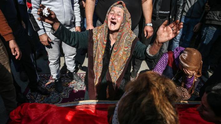 وسائل الإعلام الأمريكية الرئيسية تتجاهل نشر أخبار حول مقتل مدنيين جراء الهجوم الصاروخي الأرميني على مدينة كنجة الأذربيجانية