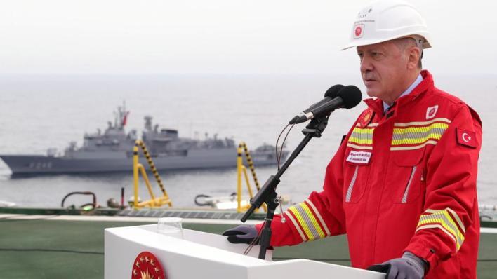 الرئيس التركي يعلن أن جميع الاكتشافات في البحر الأسود هي الأكبر بالنسبة إلى الجمهورية التركية