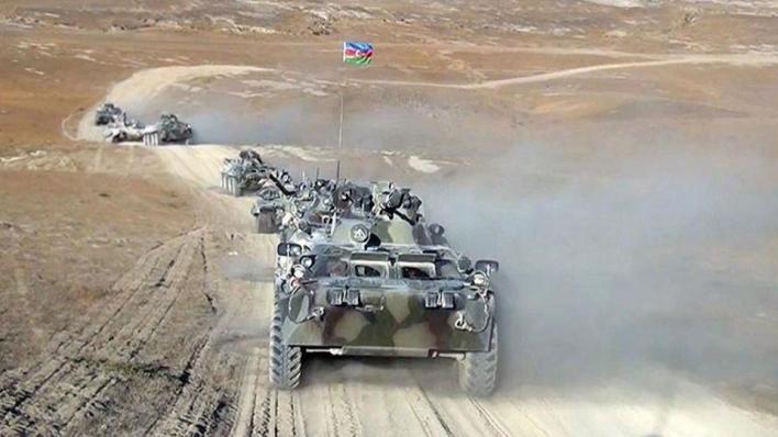9283895 854 481 4 2 - أذربيجان تتصدى لهجمات أرمينيا وتتهمها بخرق الهدنة الإنسانية