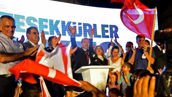 قال رئيس جمهورية شمال قبرص التركية المنتخب أرسين تتار إنه سيحرص على أن يكون رئيساً لجميع القبارصة الأتراك