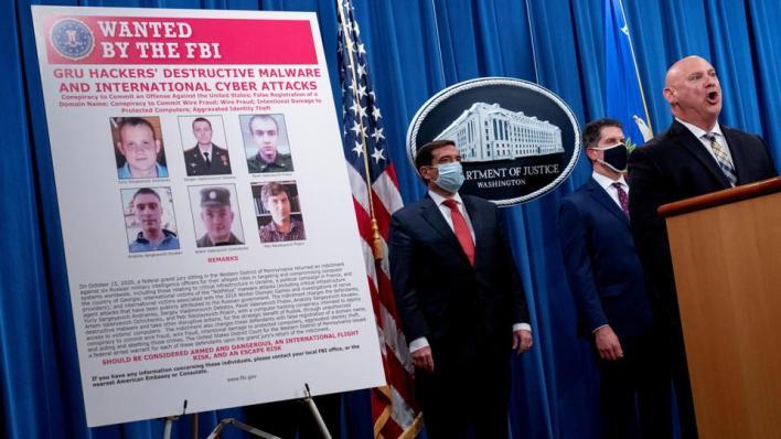9303549 5940 3345 5 395 - واشنطن تتهم عناصر استخبارات روسية بهجمات سيبرانية حول العالم