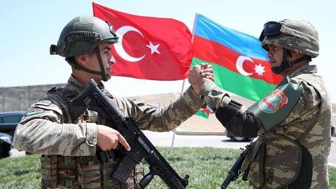 """9334679 854 481 4 2 - من """"حرب الاستقلال"""" إلى تحرير قره باغ .. تلاحم تاريخي بين تركيا وأذربيجان"""