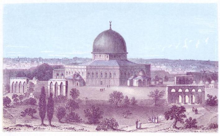 """9401117 8900 5505 44 27 - """"القدس السليمانيّة"""".. بعضٌ من إنجازات سليمان القانوني وآثاره في القدس"""