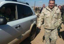 صورة مقتل أمن الفرقة التاسعة بجيش النظام في حادث سير