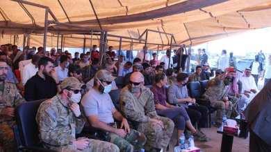 """صورة بعد تدميره.. التحالف الدولي يبدأ بمساعدة """"قسد"""" إعادة إعمار مشفى هجين الوطني"""