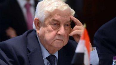 صورة مصادر تكشف عن خليفة محتمل لوليد المعلم في منصب وزير خارجية النظام