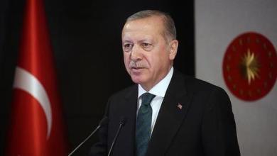 صورة أردوغان يدعو لمكافحة الإسلاموفوبيا على غرار معاداة السامية