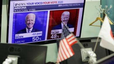 صورة بايدن يتصدر النتائج في جورجيا.. و ترمب يطالب المحكمة العليا بالتدخل