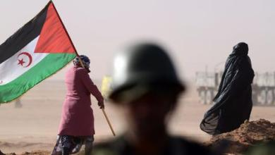 """صورة عناصر """"البوليساريو"""" تنسحب من معبر الكركرات الحدودي بعد تدخل الجيش المغربي"""