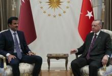 صورة أردوغان وأمير قطر يشيدان بنتائج قمتهما الاستراتيجية في أنقرة