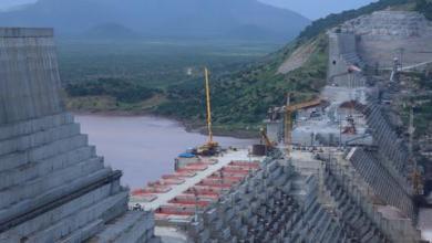 صورة بدء توليد الكهرباء من سد النهضة في يونيو