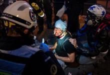 صورة عنف الشرطة الفرنسية.. ضرب مصور سوري خلال تغطية مظاهرات باريس