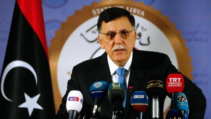 السراج يدعو الليبيين إلىإيجاد