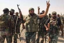 صورة انشقاق 15 عنصراً من قوات النظام بدير الزور