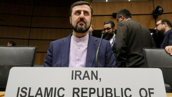 المندوب الدائم لإيران لدى المنظمات الدولية في فيينا كاظم غريب آبادي
