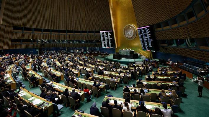 925237 6430 3621 26 678 - الجمعية العامة للأمم المتحدة تصوّت لصالح 6 قرارات تخصّ فلسطين