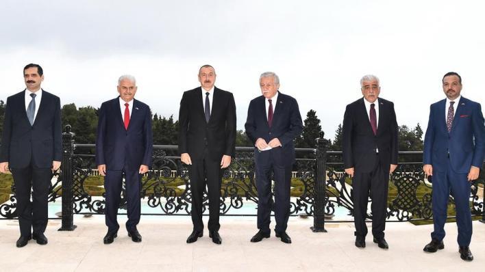 الرئيس الأذربيجاني أكد الوحدة بين أذربيجان وتركيا التي تعززت في الفترة الأخيرة