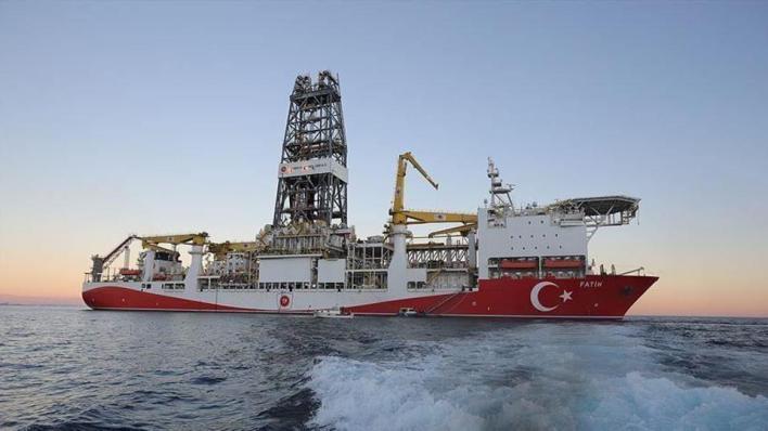 """9435901 854 481 4 2 - سفينة """"الفاتح"""" التركية تستعد لحفر أول بئر في """"توركالي-1"""" بالبحر الأسود"""