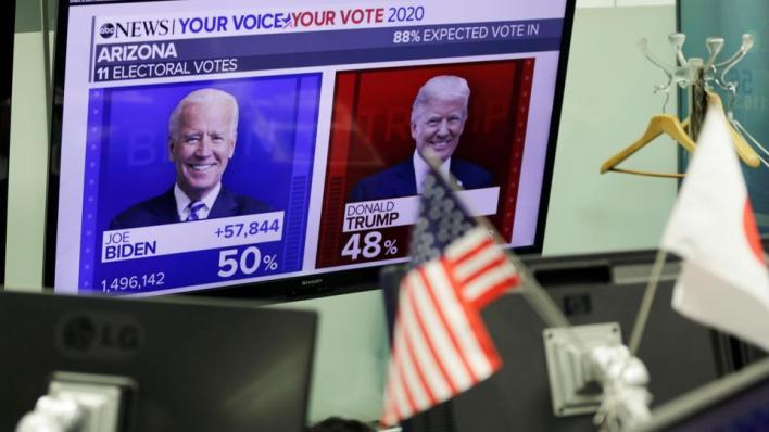 ترمب ينتفض وبايدن متفائل مع احتدام السباق الرئاسي الأمريكي