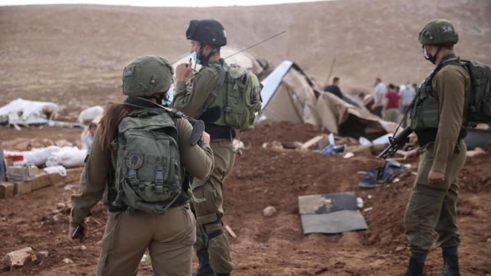 القوات الإسرائيلية دمرت قرية