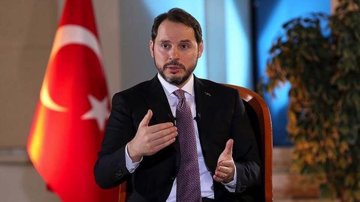 الرئاسة التركية توافق على طلب وزير الخزانة والمالية براءت ألبيرق بالإعفاء من منصبه