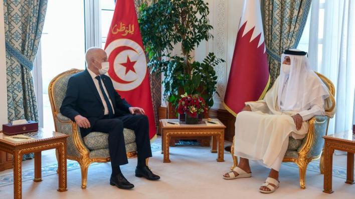 الرئيس التونسي وصل إلى العاصمة القطرية الدوحة السبت في زيارة تستمر ثلاث أيام