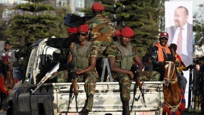الجيش الإثيوبي يتهم الجبهة الشعبية لتحرير تيغراي بأخذ 10 آلاف سجين معها أثناء الفرار من بلدة أمالاتا