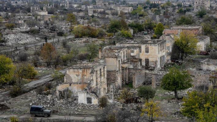 9577099 5634 3173 33 326 - الجيش الأذربيجاني يعلن دخوله مدينة أغدام بعد انسحاب الاحتلال الأرميني