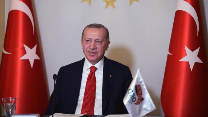 أردوغان:القرارات التي سنتخذها في قمة الرياض ستكون حاسمة، ليس فقط في الحد من الآثار السلبية للوباء، بل أيضاً في تلبية التطلعات المتعلقة بمجموعة العشرين