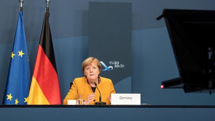 قالت ميركلخلال مشاركتها في فعالية مصاحبة على هامش قمة القادة لمجموعة العشرين، حول تعزيز التأهب للجوائح، إن