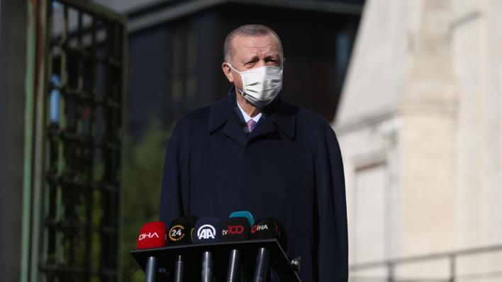 الرئيس التركي يشير إلى أن مشروع قناة إسطنبول من أهم المشاريع القادمة