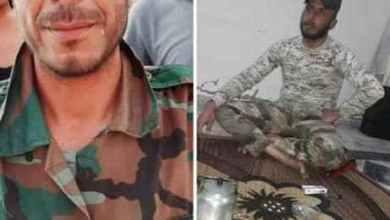 """صورة شخصان عُرفت هويتهما من بين 11 شخصاً نحرهم """"داعش"""" بريف الرقة"""