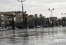 صورة سيول وفيضانات تغزو شوارع وأحياء مدينة دمشق العاصمة(فيديو)