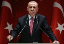 صورة الرئيس التركي يدعو للتعاون والتضامن العالمي لتجاوز مرحلة كورونا