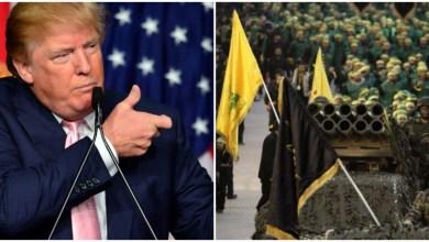 صورة ضربة محتملة من ترامب إلى حزب الله