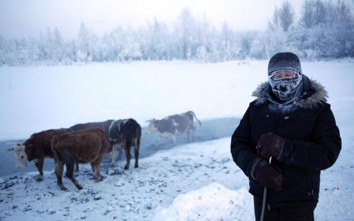 main314 - بالصور ..  أكثر القرى برودة على وجه الأرض