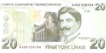 20 tl 1 300x150 - استقرار سعر الليرة التركية مع دخول يوم الأحد 10.01.2021