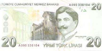 20 tl 1 300x150 - تحسن طفيف في سعر صرف الليرة التركية مقابل بعض العملات الأخرى