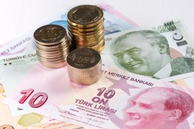 سعر صرف الليرة التركية والليرة السورية