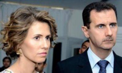 وزوجته 300x180 - الرئـ.ـاسة السورية تعلن.. إصـ.ـابة بشار الأسد وزوجته بفيروس كورونا