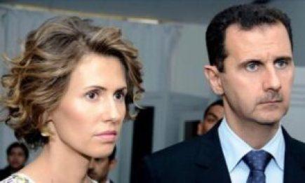 وزوجته 300x180 - بيان أصدرته الرئاسة السورية حول آخر تطورات الحالة الصحية لبشار الأسد وزوجته