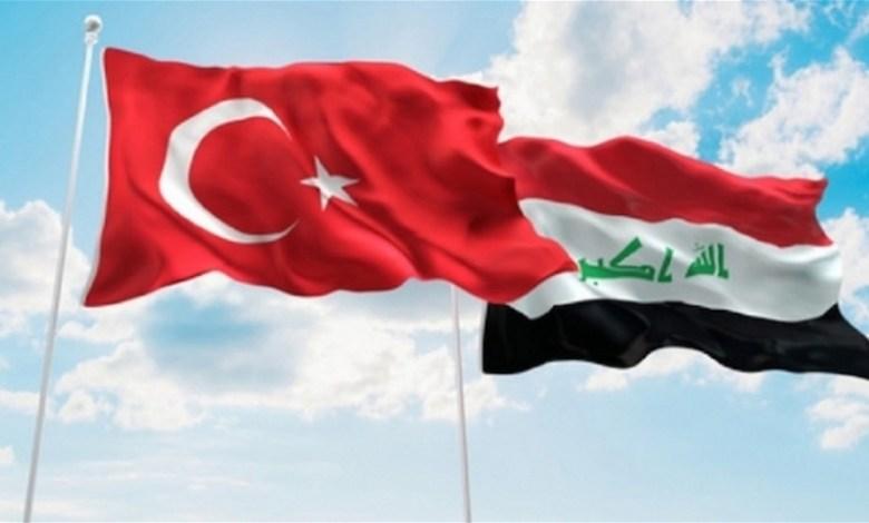 اتفاق بين تركيا والعراق