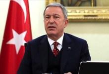 صورة وزير الدفاع التركي يتحدث عن اتفاق مع روسيا في سوريا