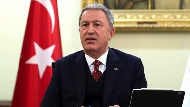 صورة وزير الدفاع التركي يتوعد مكافـ.ـ حة الإرهابيـ.ـ ين في سوريا والعراق ويعلن عن انجازات بلاده الاخيرة