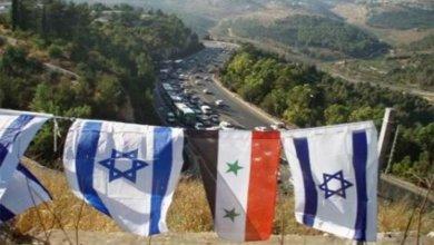 صورة تقرير يتحدث عن ثلاث رسائل إسرائيلية لنظام الأسد