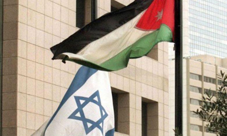 الاردن اسرائيل