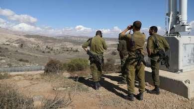 صورة عملية خاصة في منطقة الجولان السوري ينفذها الجيش الإسرائيل ضد حزب الله